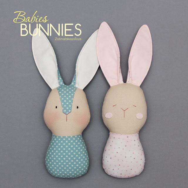 Bunnies baby toys diy