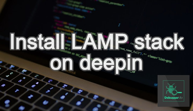 how to install lamp on deepin linux