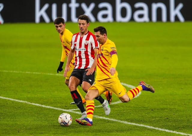 ملخص مباراة برشلونة وأتلتيك بلباو (3-2) اليوم في الدوري الاسباني