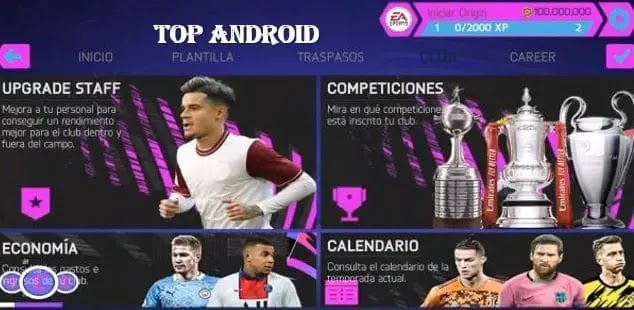FIFA14 MOD FIFA 21 ANDROID OFFLINE NEW MENU FACE KITS TRANSFER NEW UPDATE