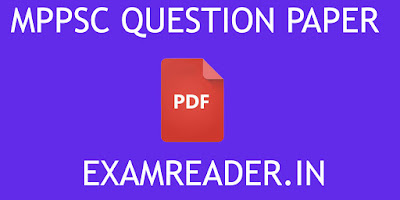 Download MPPSC Question Papers