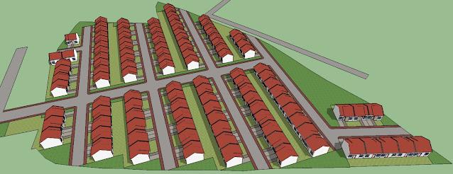 gambar rumah sederhana animasi