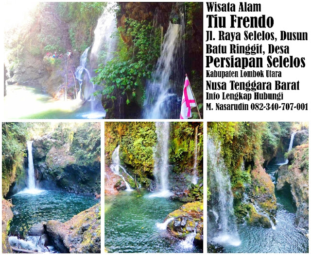 Air Terjun Frendo Lombok Utara