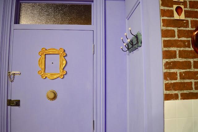 Friends purple door