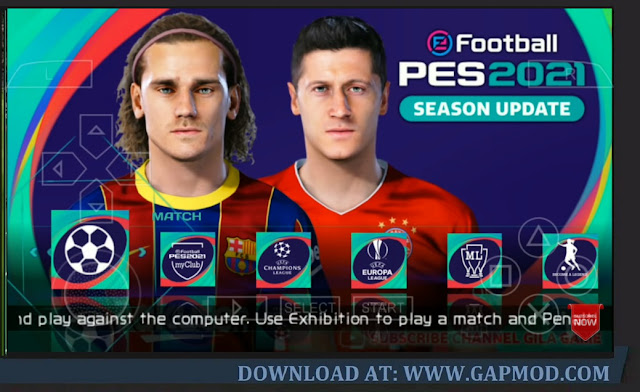 Download PES 2021 Lite 400MB PPSSPP Master League No Bug Update