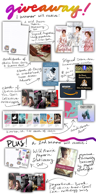 Jane Austen retelling, austen in august, The Book Rat, book giveaway, austen retellings, pride and prejudice retellings, free books, prize pack