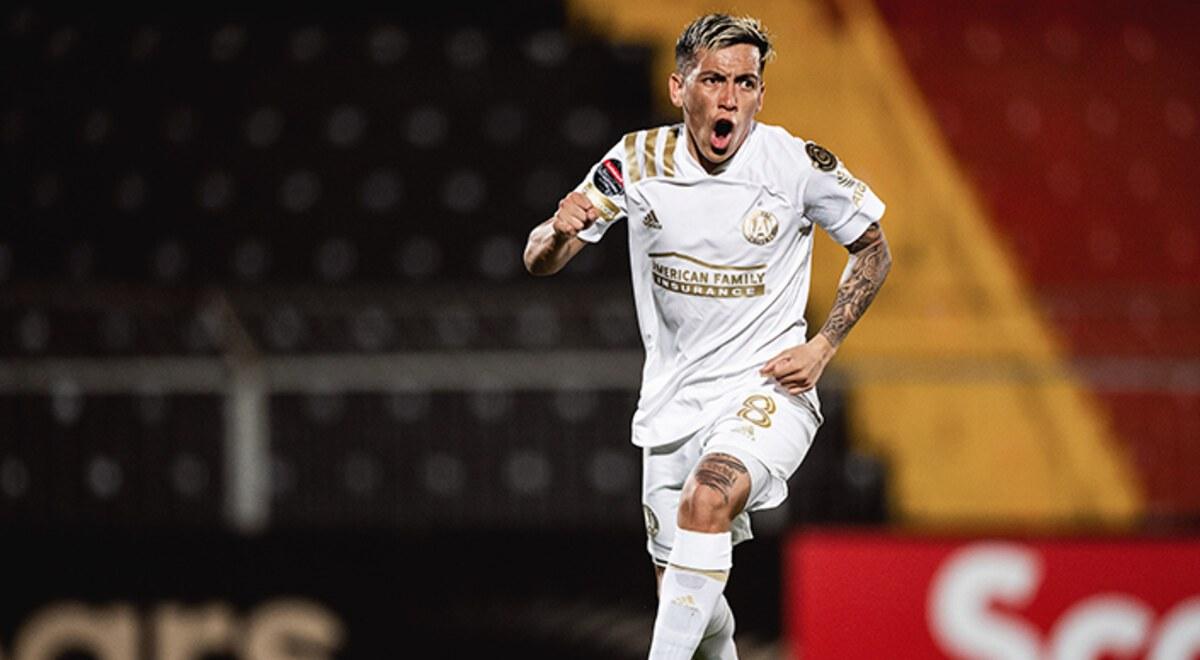 Atlanta United, dirigido por Heinze y con un gol de Barco, venció a Alajuelense en liga de Concacaf