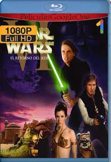 Star Wars Episodio 6: El retorno del Jedi [1983] [1080p BRrip] [Latino-Inglés] [GoogleDrive]
