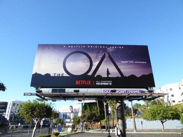 The OA series premiere billboard