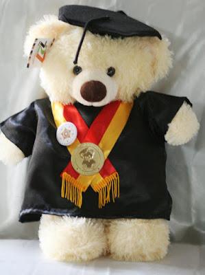 Boneka Teddy Wisuda
