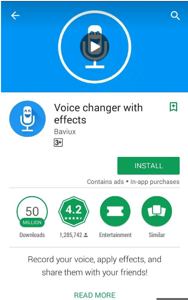 Cara merubah suara di WhatsApp menjadi wanita