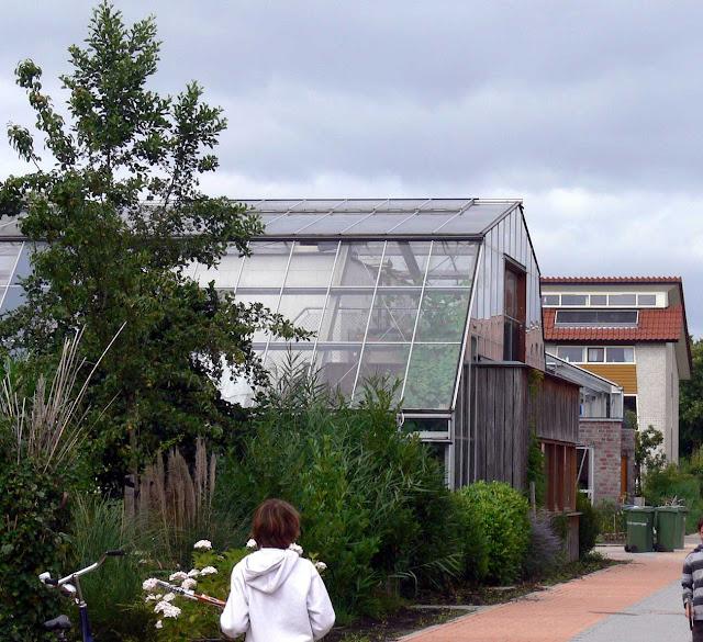 Un quartier d'habitats écologiques