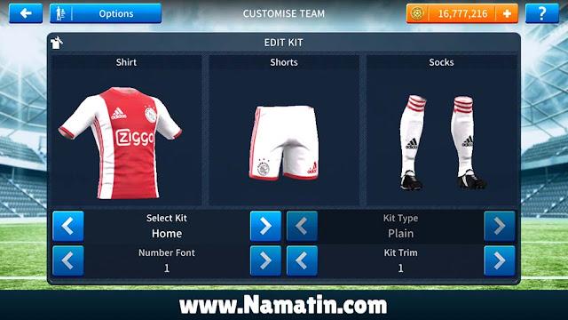 Jersey Dream League Soccer Ajax Amsterdam