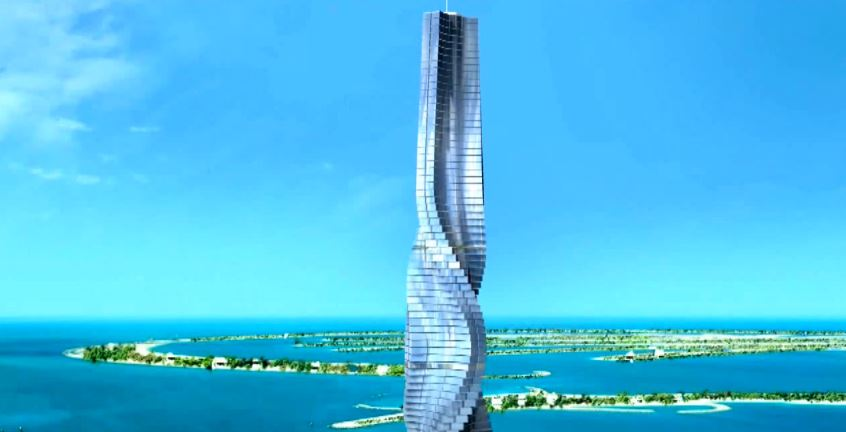 World's first rotating skyscraper in Dubai