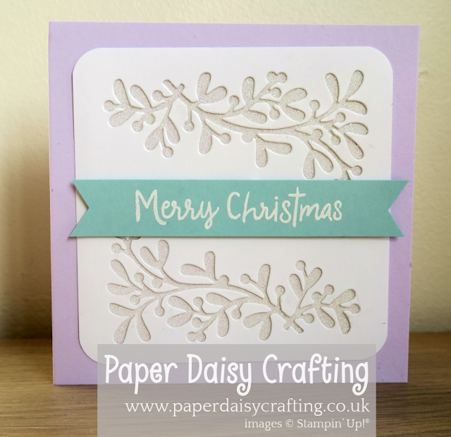 Christmas Layers Stampin Up