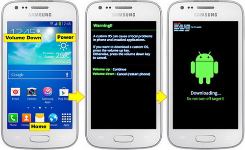 cara Flash Samsung Galaxy Ace 3