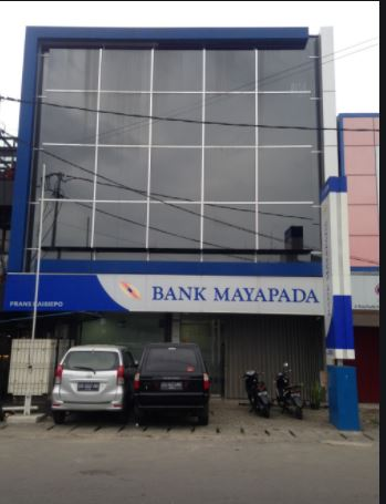 Alamat Lengkap dan Nomor Telepon Kantor Bank MAYAPADA di Bali