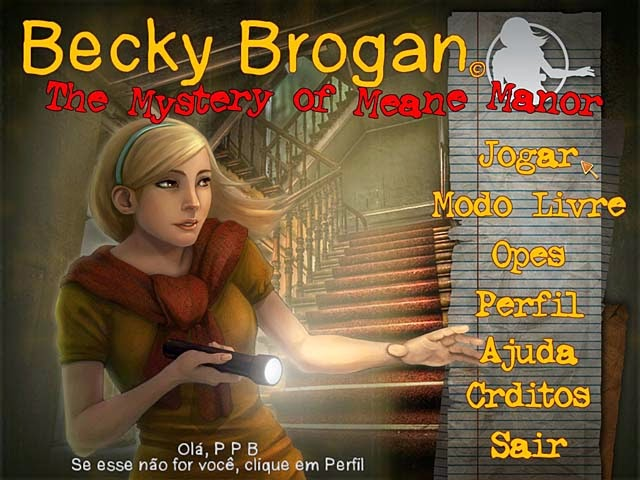 Becky Brogan - The Mystery of Meane Manor PT-BR Portable