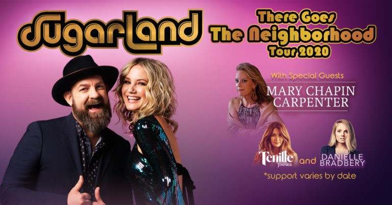 Sugarland Returns With 'There Goes The Neighborhood Tour 2020'