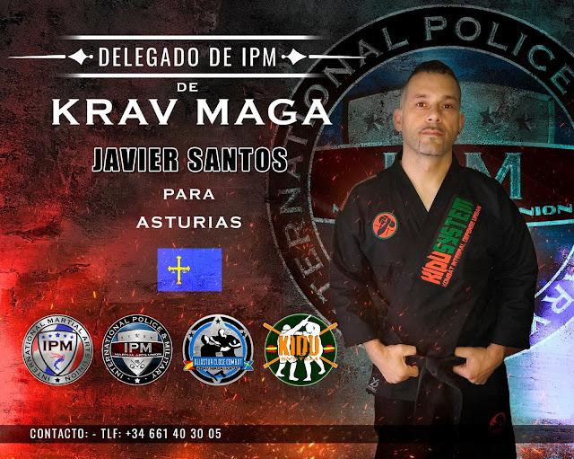 Nombramiento del entrenador D. Javier Santos como Delegado de KRAV MAGA de IPM, para el Principado de Asturias