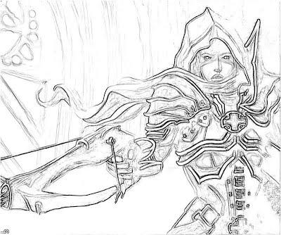 Diablo 3 Demon Hunter Armor 2 | Yumiko Fujiwara