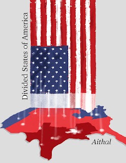 Front cover of Divided States of America by Aithal