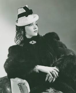 Carole Landis In Fur