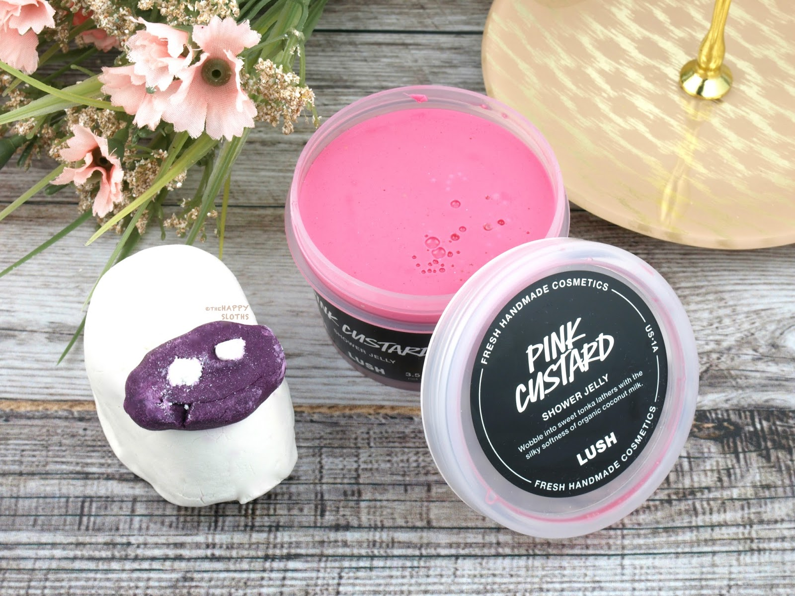Lush Mother's Day 2017 Gift Guide | Baa Bar | Pink Custard Shower Jelly