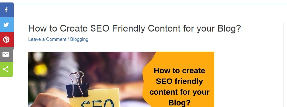 SEO friendly content writing
