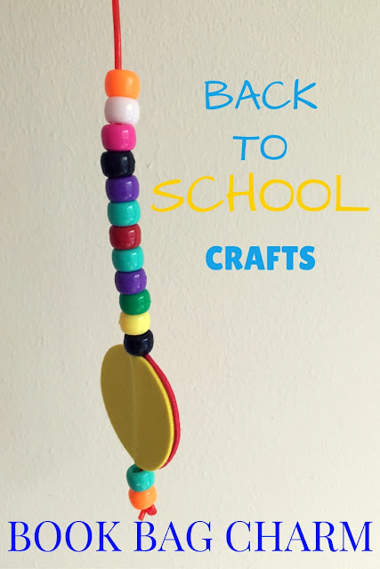 Back to School Crafts: Book Bag Charm