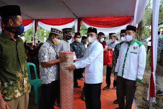 Hadiri Safari Ramadhan di Pekon Suka Marga, Bupati Lonching Berbagai Program