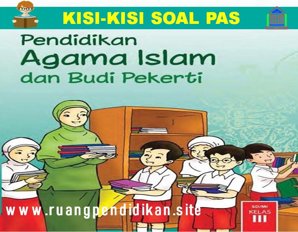 Kisi-kisi Soal PAS PAI & BP Kelas 3 SD/MI
