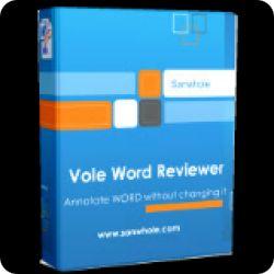 تحميل Vole Word Reviewer Professional 3.59.7061 مجانا لدمج الوسائط في ملف Word مع كود التفعيل
