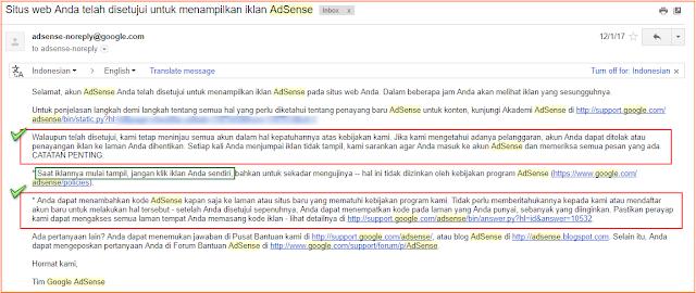Cara Saya Diterima! Daftar Google Adsense Non Hosted Full Approve