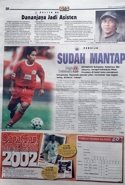 LIGA INDONESIA: PERSIJA SUDAH MANTAP