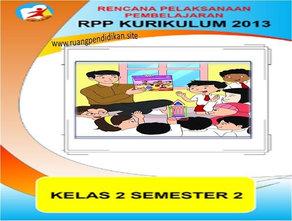 Download RPP 1 Lembar Kelas 2 SD/MI Kurikulum 2013 Revisi Tahun 2020