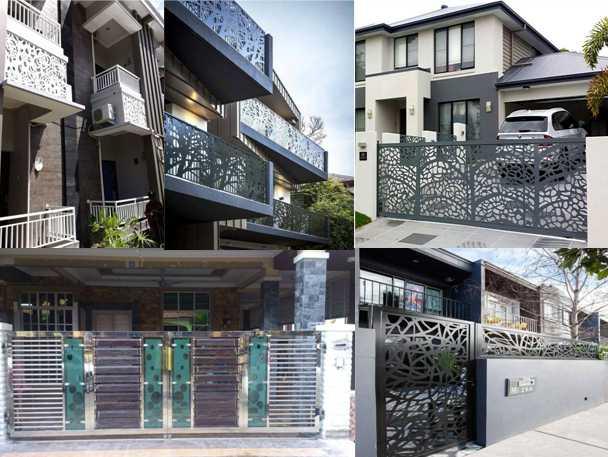 tiang Pagar Rumah Minimalis Modern
