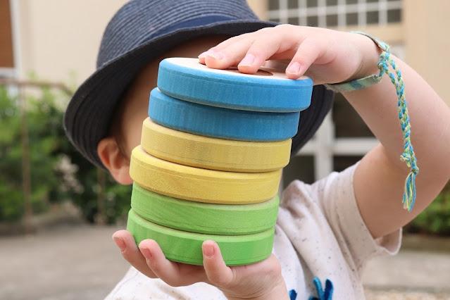 jeu exterieur en bois pour enfant