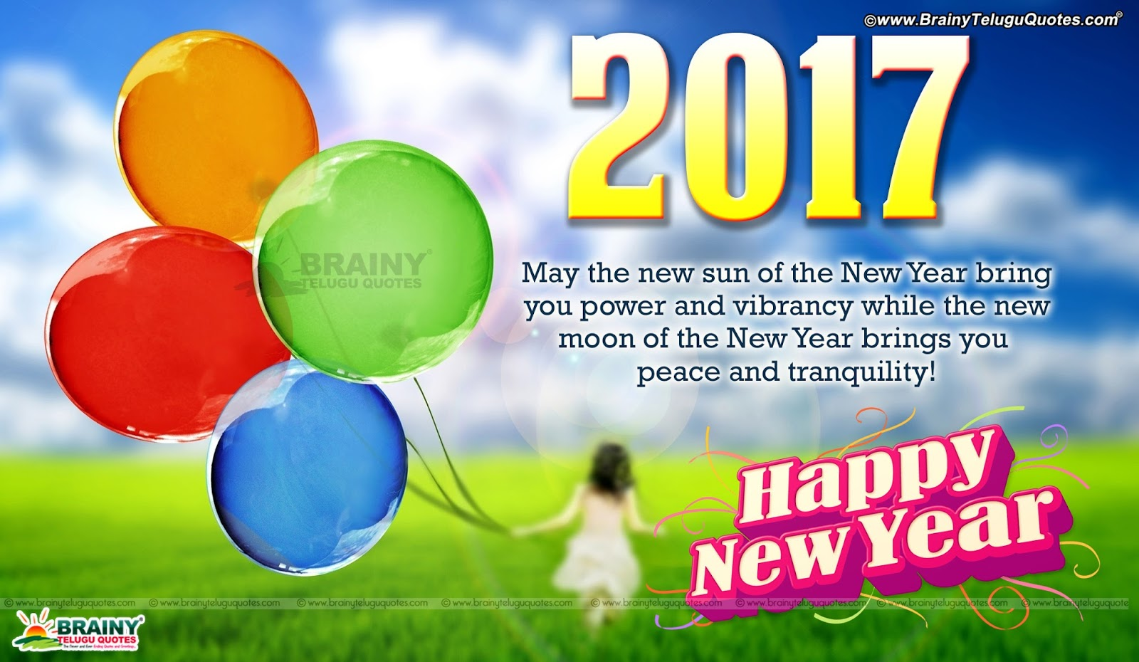Top Best Latest 5 English Inspirational Happy New Year ...