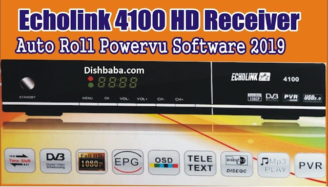 Echolink 4100 HD,Echolink 4100 HD receiver new software 2019