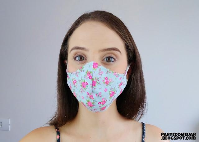 mascara tecido molde