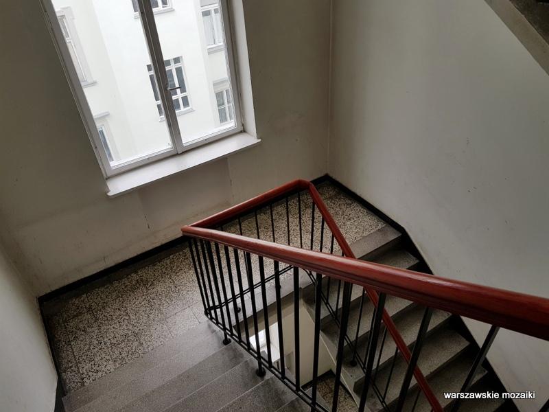 klatka schodowa Warszawa Warsaw kamienica architektura architecture zabytek przedwojenna kamienica Śródmieście