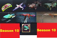 new guns and skins of Season 10