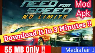 تحميل لعبة Need For Speed من ميديا فاير بحجم صغير