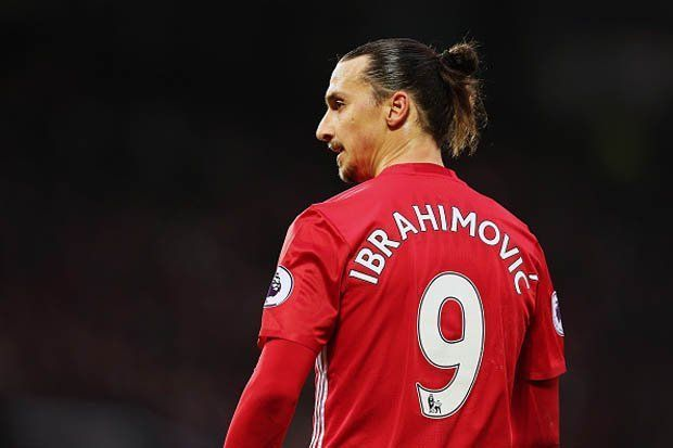 Players has Taken the No.9 at Manchester United - Zlatan Ibrahimović