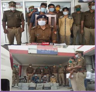 कानपुर: थाना चकेरी पुलिस ने ATM मशीन से बैटरी चोरी करने वाले 3 अभियुक्तों को गिरफ्तार किया