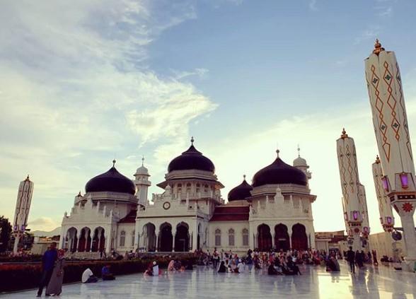 Kubah Masjid Raya Baiturrahman