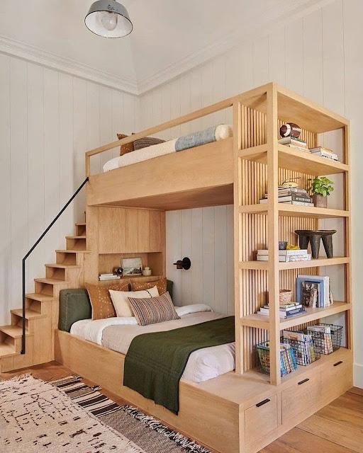 Desain Kamar Tidur ukurang 3x3 dengan Lantai Tambahan