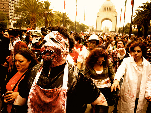 Image: Zombie Takeover, by Munir Hamdan on Flickr