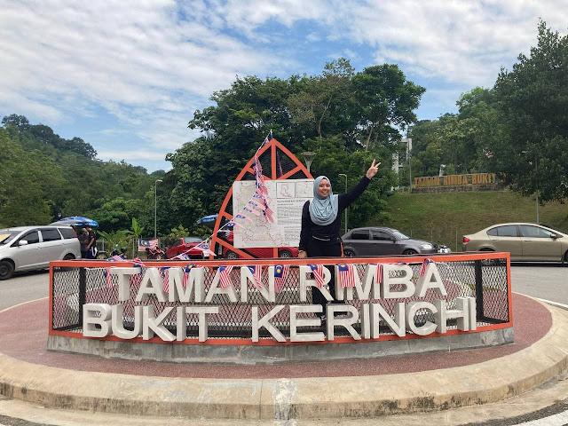 Hiking Jambatan Gantung Taman Rimba Bukit Kerinchi